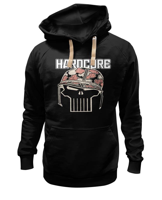 Толстовка Wearcraft Premium унисекс Printio Череп в каске hardcore yo zuri hardcore surface crank