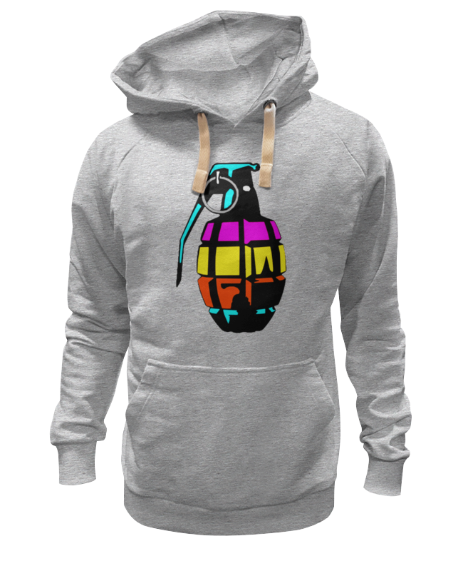 Толстовка Wearcraft Premium унисекс Printio Color grenade шапка grenade max slime