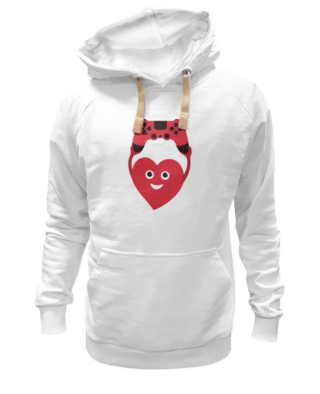 все цены на Толстовка Wearcraft Premium унисекс Printio Джойстик и сердце онлайн
