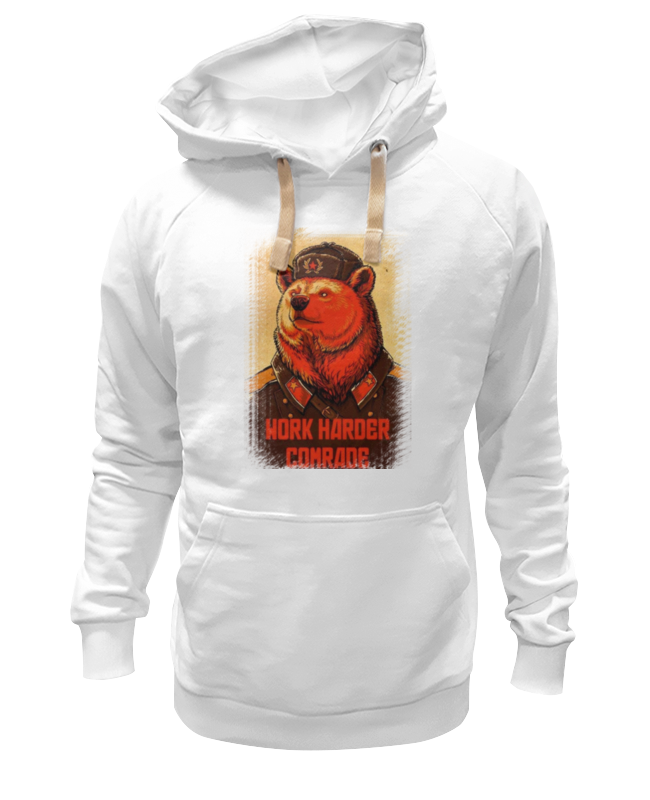 Толстовка Wearcraft Premium унисекс Printio Comrade bear comrade r8