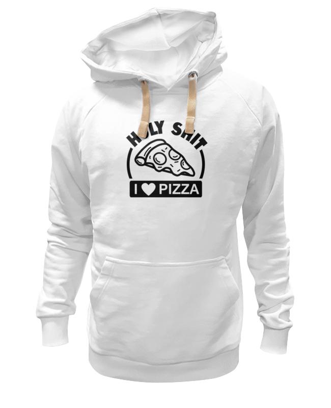 Толстовка Wearcraft Premium унисекс Printio Люблю (pizza)