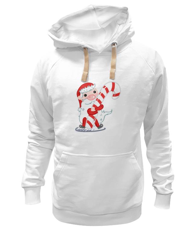 Толстовка Wearcraft Premium унисекс Printio Дед мороз с леденцом украшение новогоднее оконное magic time дед мороз с самоваром двустороннее 30 х 32 см