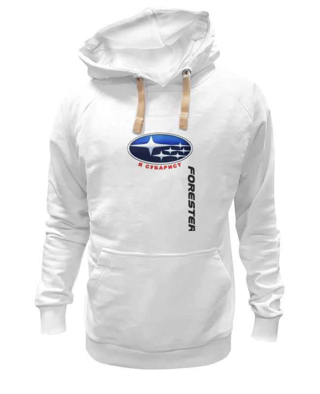 Толстовка Wearcraft Premium унисекс Printio Subaru forester i'm subarist (subaru club 161) 2pcs set car styling auto led drl daylight car daytime running lights set for subaru forester 2009 2010 2011 2012