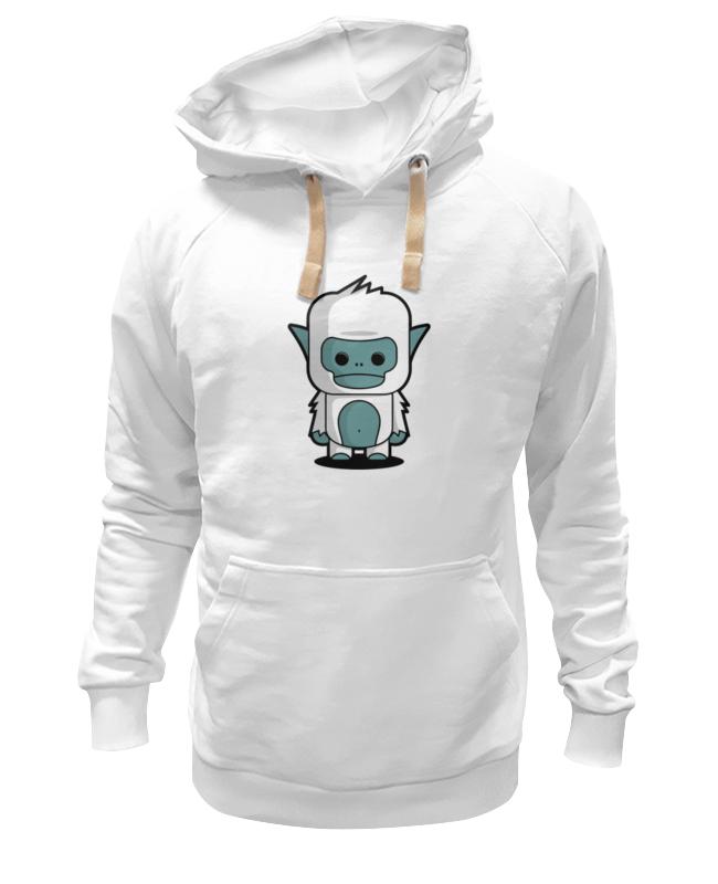 Толстовка Wearcraft Premium унисекс Printio Снежный человек (йети) цена