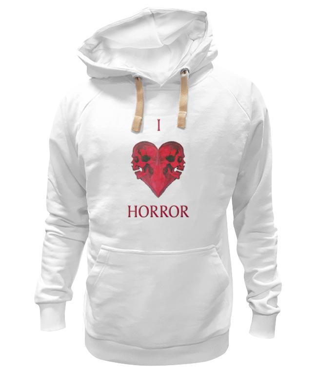 Толстовка Wearcraft Premium унисекс Printio I love horror кирпичи 2 0