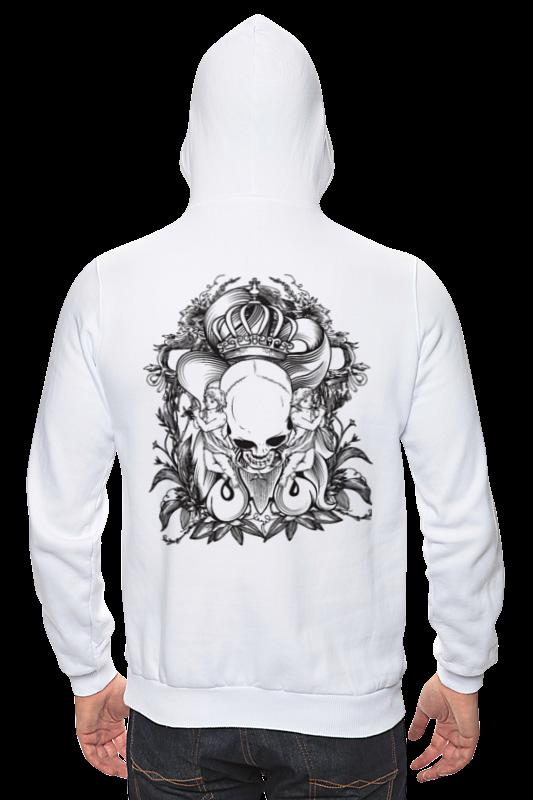 Толстовка Wearcraft Premium унисекс Printio Череп толстовка wearcraft premium унисекс printio череп зайца