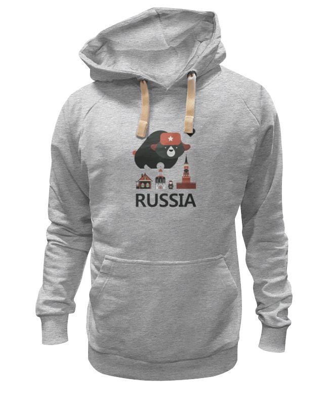 Толстовка Wearcraft Premium унисекс Printio Россия (russia) велофутболка 16 011 j russia pro с лого россия с молнией s бело сине красная funkierbike