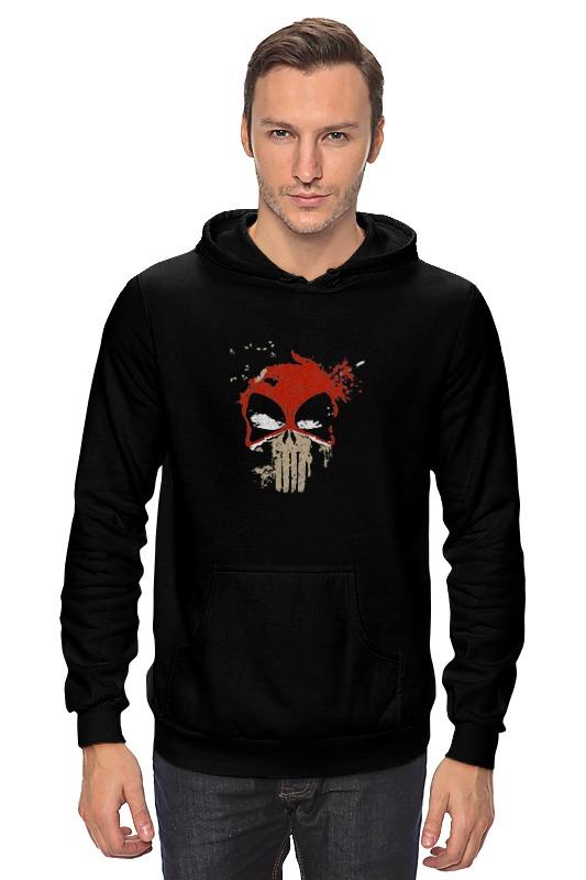Толстовка Wearcraft Premium унисекс Printio Deadpool punisher толстовка wearcraft premium унисекс printio punisher of the future
