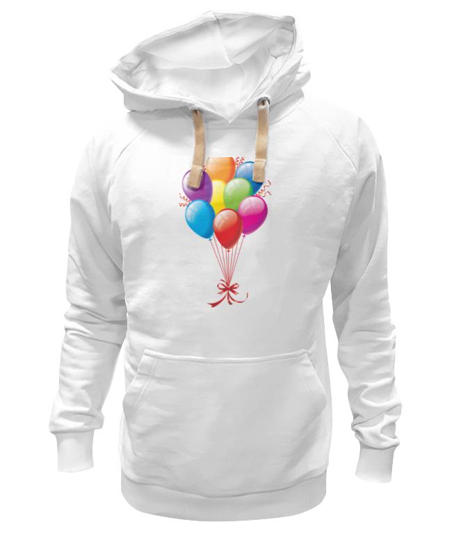 Толстовка Wearcraft Premium унисекс Printio Воздушные шарики