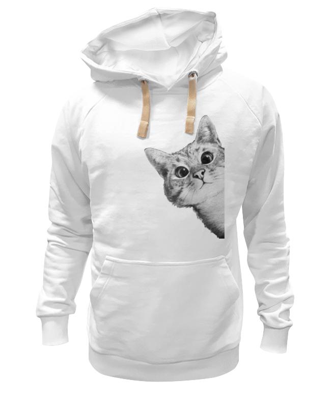 Толстовка Wearcraft Premium унисекс Printio Любопытный кот футболка стрэйч printio любопытный кот