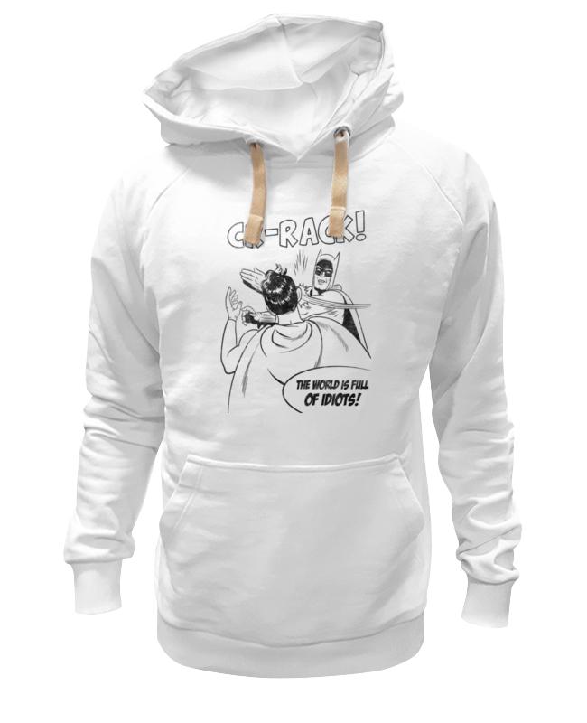 Толстовка Wearcraft Premium унисекс Printio Бэтмен и робин. пощёчина футболка wearcraft premium slim fit printio бэтмен и робин пощёчина