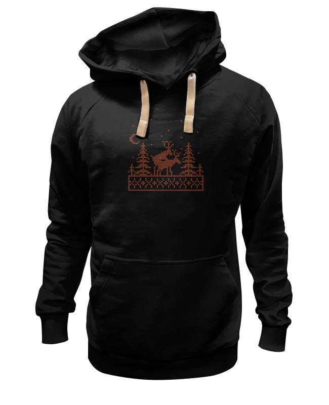 Толстовка Wearcraft Premium унисекс Printio Олени в лесу толстовка wearcraft premium унисекс printio олени wot