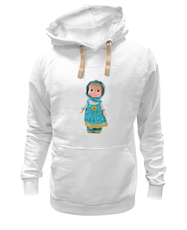 Толстовка Wearcraft Premium унисекс Printio Кукла маша из мульта. смешная озорная. . футболка wearcraft premium printio кукла девочка маша из мульта смешная озорная