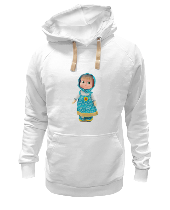 Толстовка Wearcraft Premium унисекс Printio Кукла маша из мульта. смешная озорная. . кукла yako m6579 6
