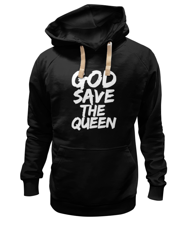 Толстовка Wearcraft Premium унисекс Printio God save the queen (боже, храни королеву) the queen extravaganza london