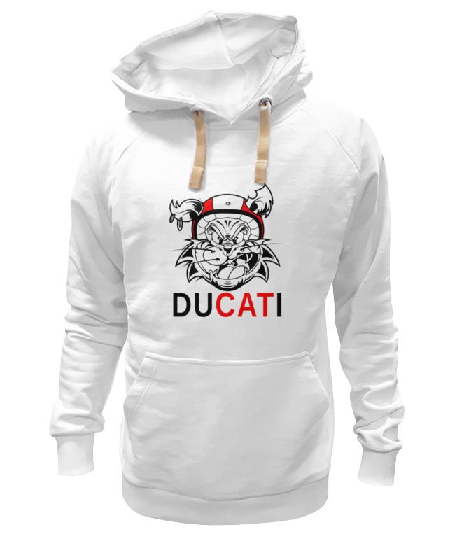 Толстовка Wearcraft Premium унисекс Printio Ducati