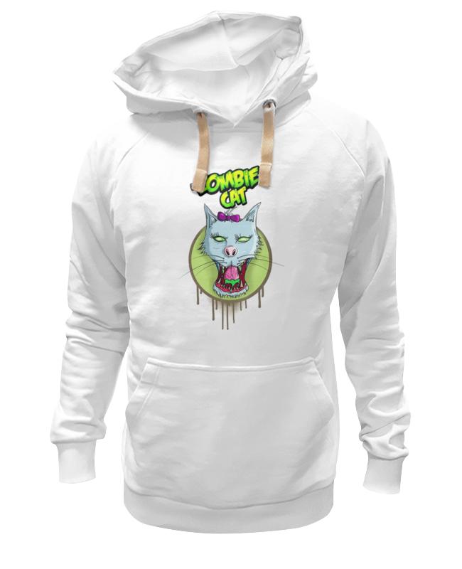 Толстовка Wearcraft Premium унисекс Printio Zombie cat толстовка wearcraft premium унисекс printio zombie kiss