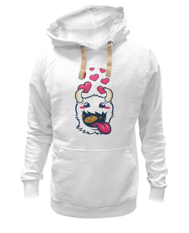 Толстовка Wearcraft Premium унисекс Printio poro snax (league of legends) vidima дельта b9734aa