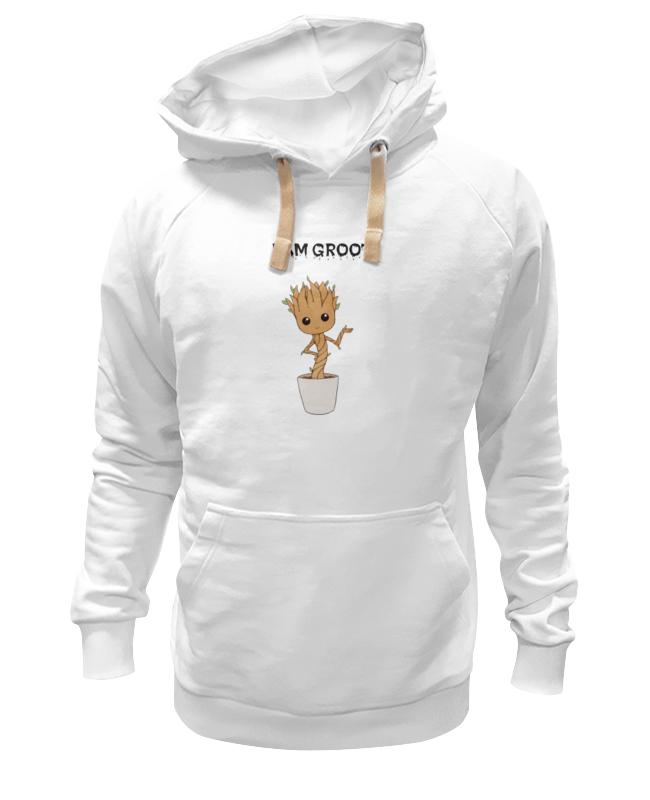 Толстовка Wearcraft Premium унисекс Printio Я есть грут - i am groot лонгслив printio rocket raccoon and groot