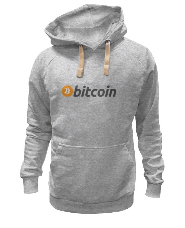 Толстовка Wearcraft Premium унисекс Printio Bitcoin футболка wearcraft premium printio bitcoin