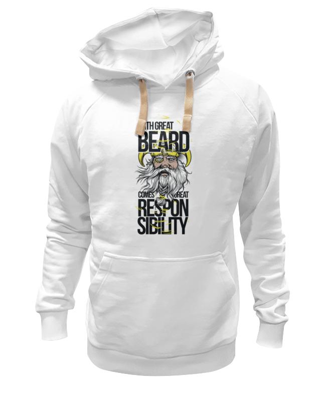 Толстовка Wearcraft Premium унисекс Printio Большая борода майка борцовка print bar большая борода большая отвественность
