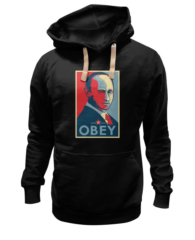 Толстовка Wearcraft Premium унисекс Printio Путин (obey) толстовка wearcraft premium унисекс printio obey satrwars