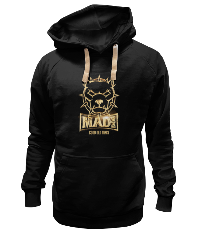 Толстовка Wearcraft Premium унисекс Printio Mad dog gold майка борцовка print bar mad dog