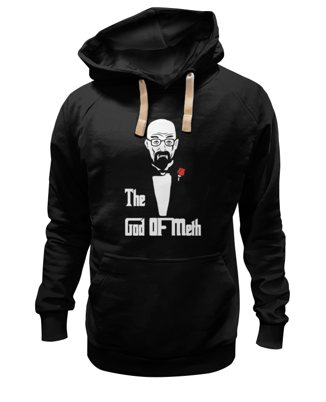 Толстовка Wearcraft Premium унисекс Printio God of meth (breaking bad) толстовка wearcraft premium унисекс printio king meth