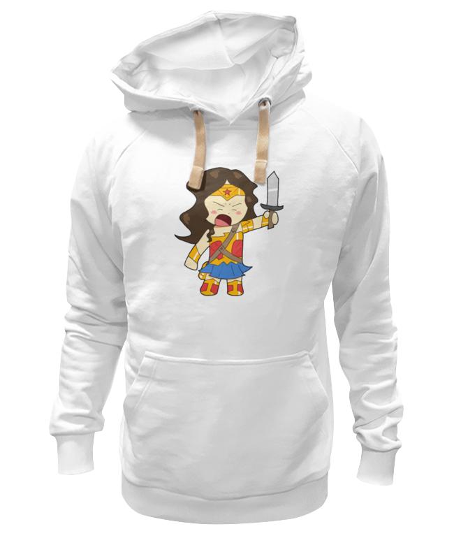 Толстовка Wearcraft Premium унисекс Printio Чудо-женщина schleich герой комиксов чудо женщина