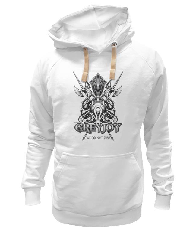Толстовка Wearcraft Premium унисекс Printio Кракен грейджоев (игра престолов)