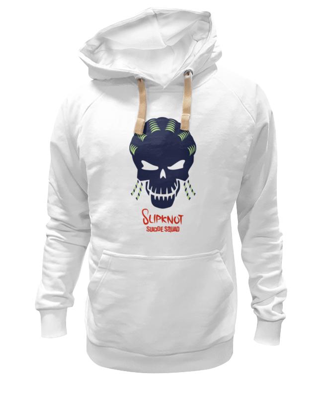 Толстовка Wearcraft Premium унисекс Printio Слипкнот (отряд самоубийц) лонгслив printio слипкнот отряд самоубийц