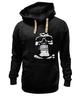 "Толстовка Wearcraft Premium унисекс ""Череп"" - череп, black and white, мужская, кости, парню"
