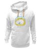 "Толстовка Wearcraft Premium унисекс ""Тихий час"" - медведь, sleep, мишка, домик, очки, сон, птицы, лес, природа, dreams"