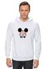 "Толстовка Wearcraft Premium унисекс ""mickey mouse swag wallpaper для него"" - микки маус, mickey mouse, swag, obey"