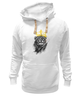 """Толстовка Wearcraft Premium унисекс """"Король Лев"""" - животные, корона, лев, lion, царь зверей"""