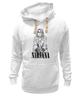 "Толстовка Wearcraft Premium унисекс ""Nirvana"" - гранж, nirvana, kurt cobain, курт кобейн, нирвана"