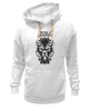 "Толстовка Wearcraft Premium унисекс ""Lycanthrope"" - арт, мандала, волк, оборотень, wolf, werewolf, вензель, mandala"