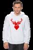 "Толстовка Wearcraft Premium унисекс ""Ho Ho Ho..."" - christmas, deer, reindeer"