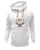 """Толстовка Wearcraft Premium унисекс """"рыжий кот"""" - кот, cat, рыжий, red cat"""
