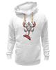 "Толстовка Wearcraft Premium унисекс ""Totem cancer"" - шаман, рак, индейцы, cancer, haida, shaman"