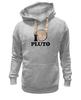 """Толстовка Wearcraft Premium унисекс """"Плутон (Pluto)"""" - pluto, space, космос, плутон"""