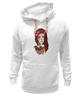 "Толстовка Wearcraft Premium унисекс ""bad girl"" - арт, girl, tattoo, тату"