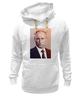 """Толстовка Wearcraft Premium унисекс """"Путин-Арт"""" - россия, путин, президент, кремль, ввп"""