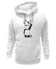 """Толстовка Wearcraft Premium унисекс """"Панда вандал"""" - wwf, вандал, животные, панда, panda"""