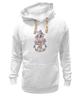 """Толстовка Wearcraft Premium унисекс """"Цветочная фантазия."""" - арт, цветы, весна, коллаж, ирисы, spring, iris flowers"""