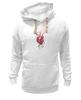 """Толстовка Wearcraft Premium унисекс """"Обнаженное сердце"""" - гранж, сердце, любовь, арт, акварель"""