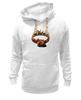 """Толстовка Wearcraft Premium унисекс """"Winter is coming"""" - игра престолов, winter is coming, game of thrones, зима близко, песнь льда и пламени"""