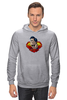 "Толстовка Wearcraft Premium унисекс ""Супермен (Superman)"" - супермен, superman, супергерой, dc comics"