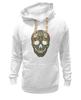 "Толстовка Wearcraft Premium унисекс ""Череп"" - skull, череп, узор, сова, паттерн, символ, дудл"