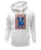 "Толстовка Wearcraft Premium унисекс ""Синий Пес"" - сердце, dog, пес, собака, blue dog"